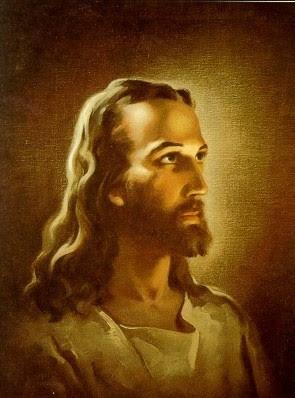 Head of Christ by Warner Sallman 1941
