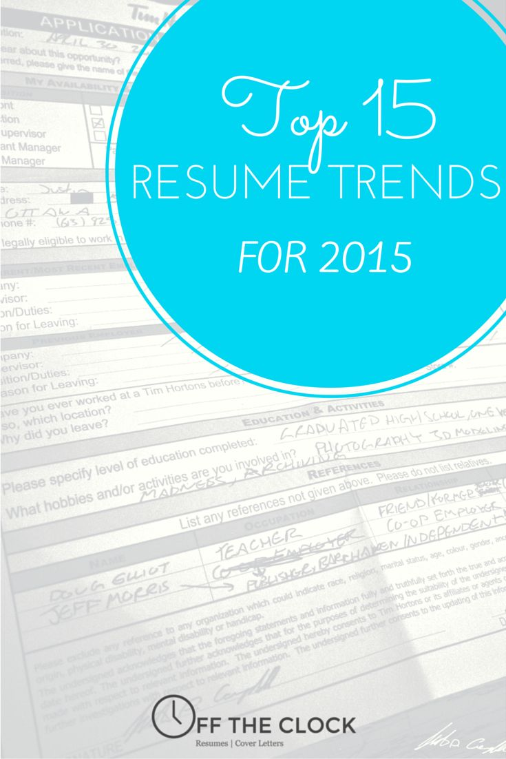 122 best off the clock resumes blog images on pinterest clock