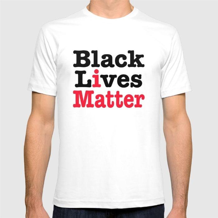 BLACK LIVES MATTER T-shirt #blacklivesmatter