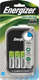 Energizer - 15-Minute AA and AAA Battery Charger, CH15MNCP4