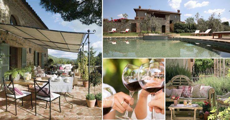 Summer at a Tuscan Villa