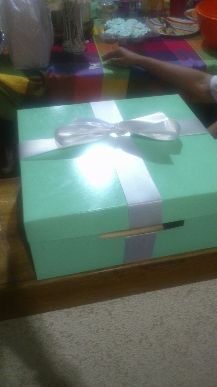 a box for the gifts...$