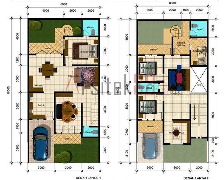 Denah Rumah Sederhana 4 Kamar Tidur. Foto atau Gambar Berjudul Denah Rumah Sederhana 4 Kamar Tidur dan 459 desain rumah minimalis terbaru.