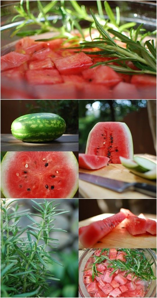 Watermelon Rosemary Infused Vodka - when you use fruit to infuse vodka, you can save the fruit in the freezer for a delicious (adult!) treat. One of my favorites is to serve berries from my infusions over ice cream when I host a brunch!