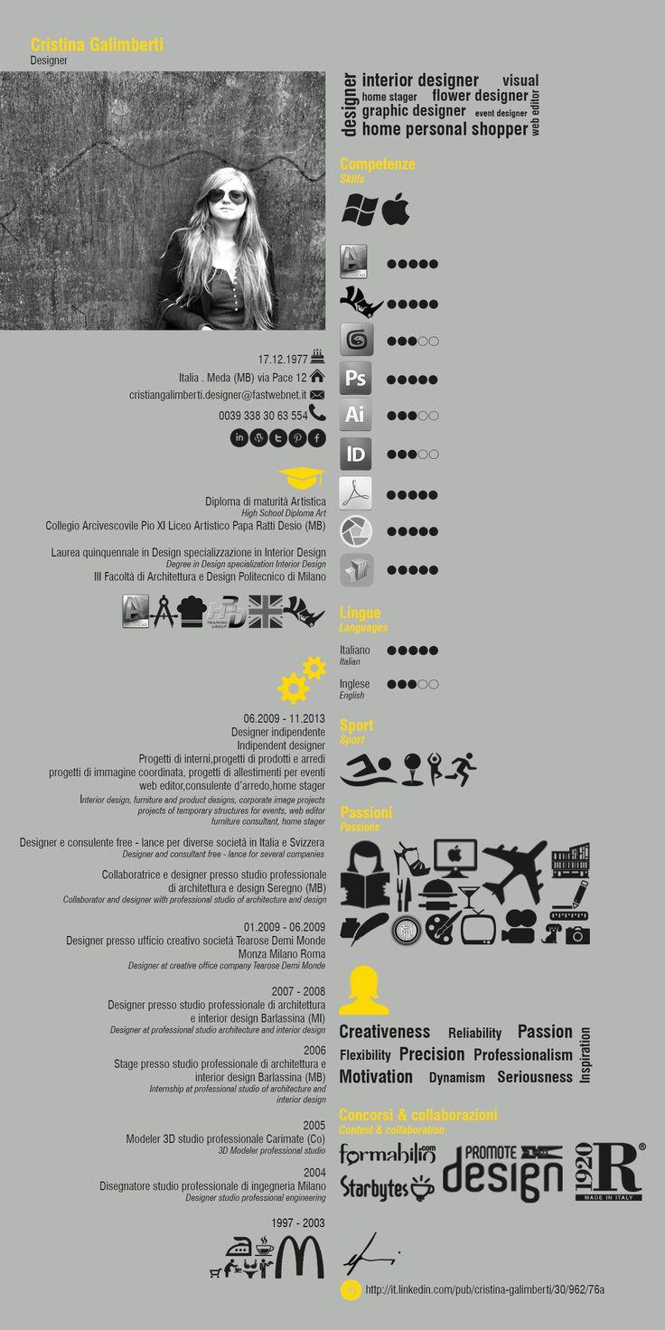 Pin By соня On Примеры Resume Design Interior Design