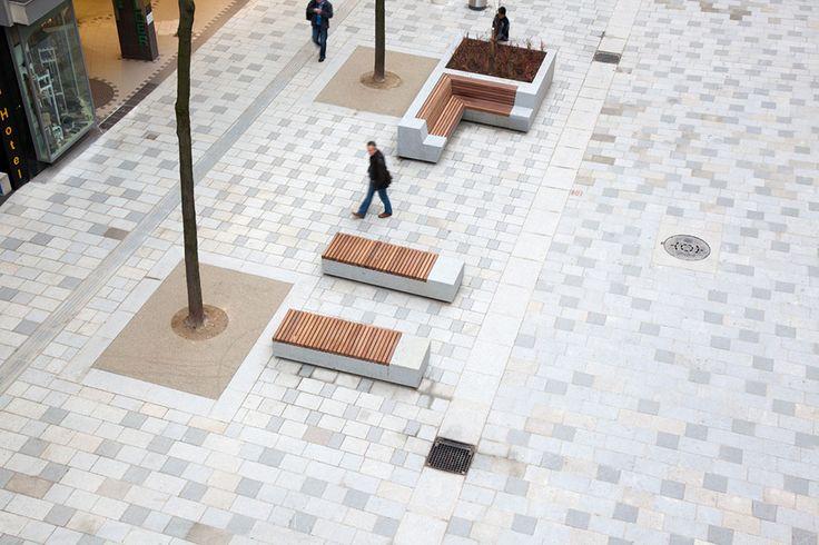 public bench / Mariahilferstrasse-by-Bureau_BplusB-01 « Landscape Architecture Works | Landezine