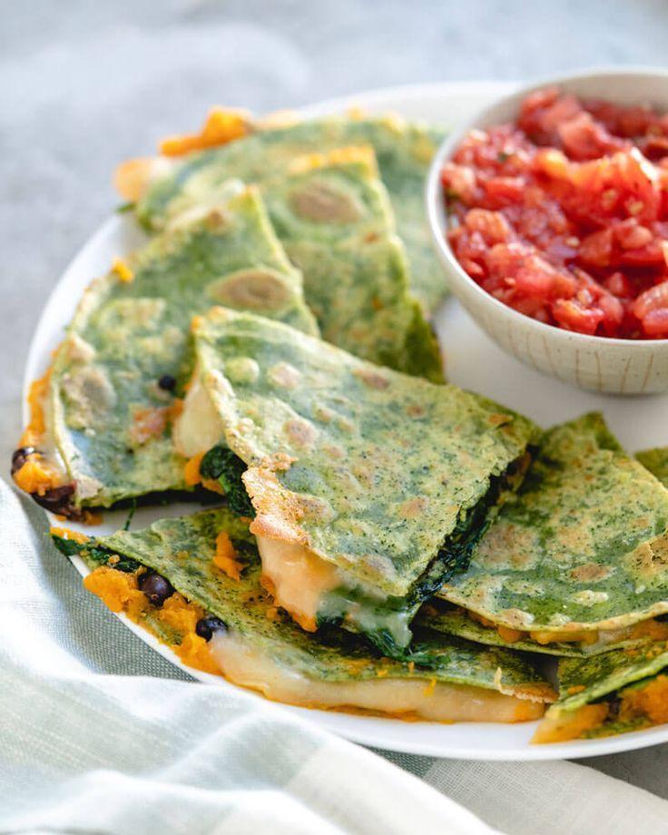 Superfood Veggie Quesadilla