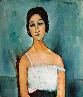 Christina By Amedeo Modigliani ,Circa 1916