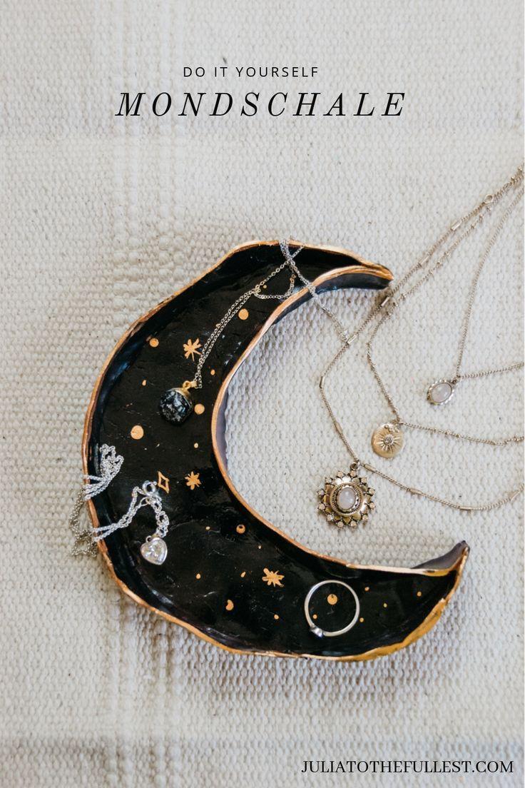 DIY Mond Schmuckschale