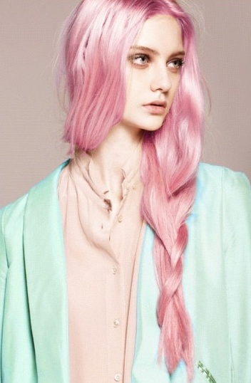 60 best cheveux roses images on pinterest colourful hair rose pink hair and cabello de colores. Black Bedroom Furniture Sets. Home Design Ideas