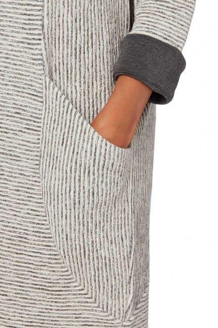 Sahara Ridge Stripe Jersey Dress