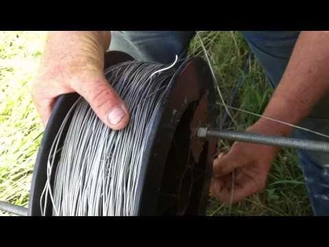 Joel Salatin Talks Fence - YouTube - low tech fencing idea