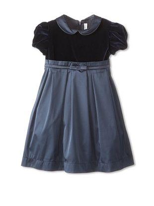 50% OFF Il Gufo Kid's Dress (Blue)