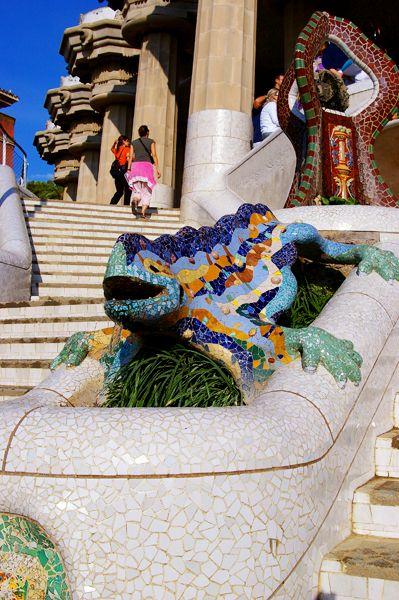 グエル公園の有名なシンボル! -スペイン・バルセロナに旅行!おすすめの観光スポットを集めました。