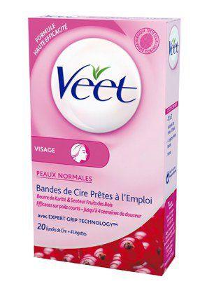 Réussir son épilation lèvres supérieures : des bandes de cire Veet
