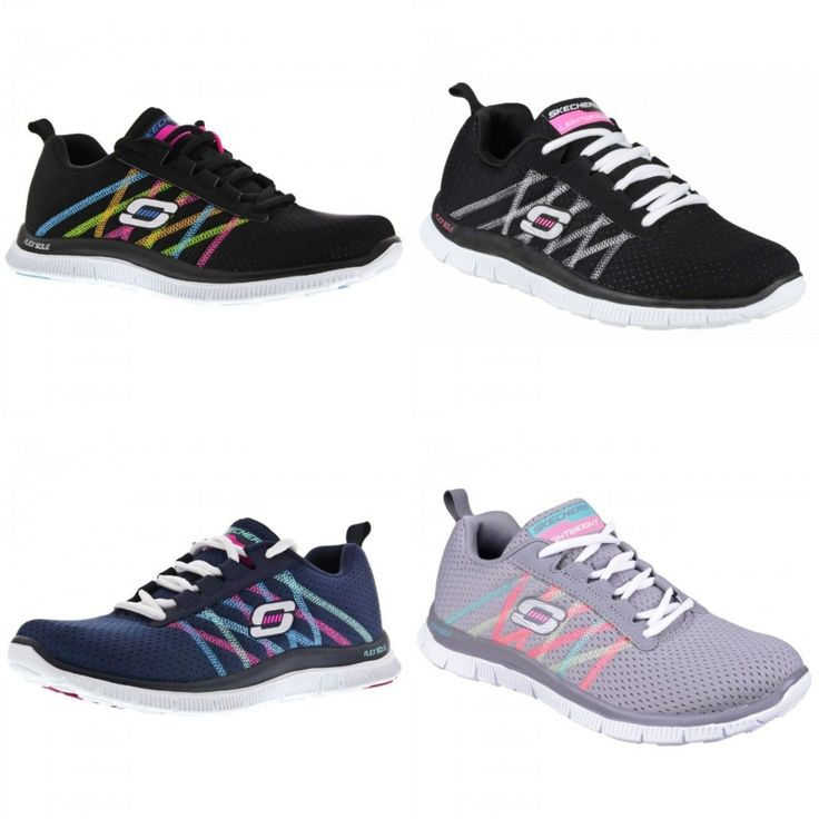 Skechers Sk11885 Sports Flex Appeal Some Ladies Trainers