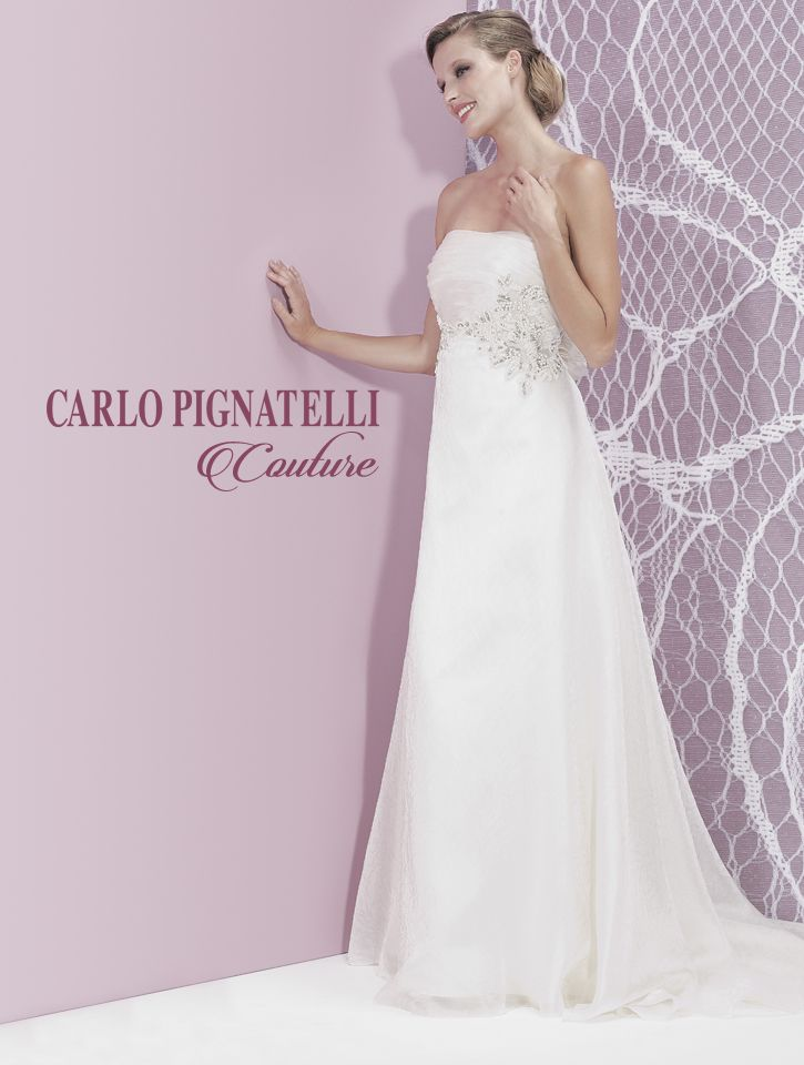 "Model ""Liana"" - Carlo Pignatelli Couture 2015. #carlopignatelli #couture #sposa #bride #weddingdress #bridalgown #weddingday #matrimonio #madeinitaly"
