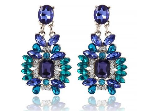 Bohemian Colourful Drop Earring. Check out our latest jewelry collection.