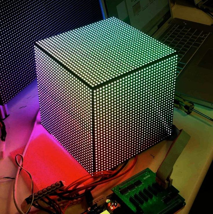 Overview | DIY LED Video Cube | Adafruit Learning System
