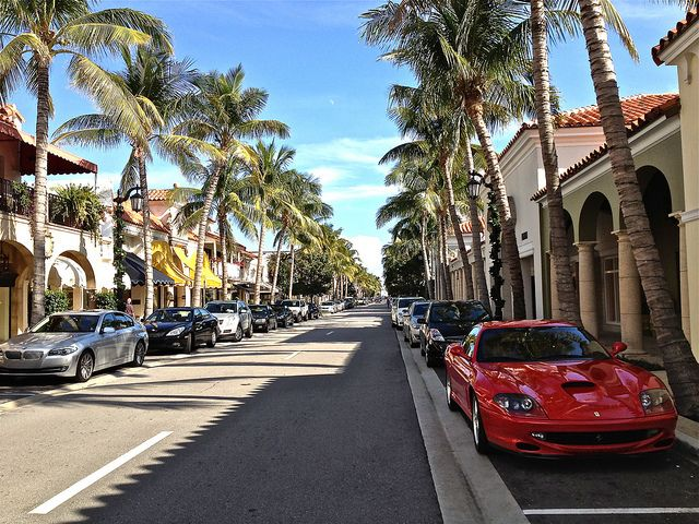 Worth Avenue (Palm Beach, Florida). Picture Yourself in Paradise at www.floridanest.com