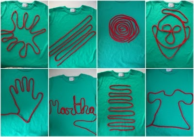 Vingerhaken en je eigen t shirt maken