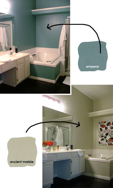 Master bathroom color palette emperor ralph lauren Bathroom color palettes