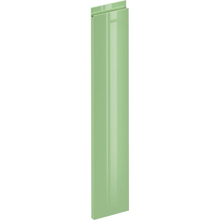 Porte de cuisine Osaka vert sauge, DELINIA ID H.76.8 x l.14.7 cm