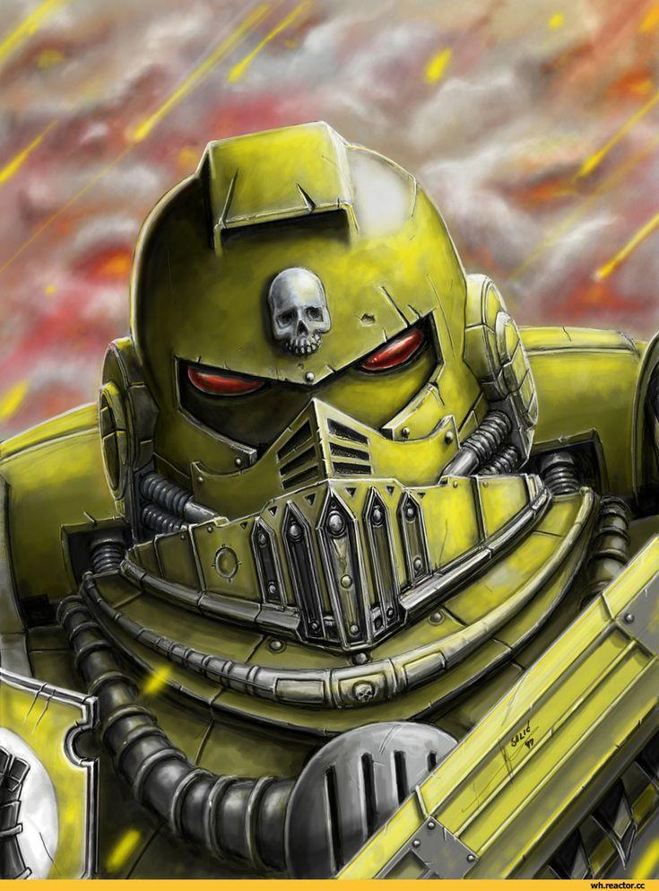 Warhammer 40000,warhammer40000, warhammer40k, warhammer 40k, ваха, сорокотысячник,фэндомы,Imperial Fists,Space Marine,Adeptus Astartes,Imperium,Империум,HrvojeSilic