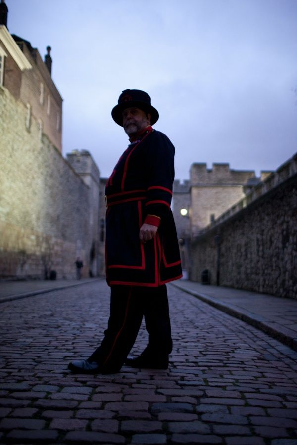 Day in life of Chief Yeoman Warder