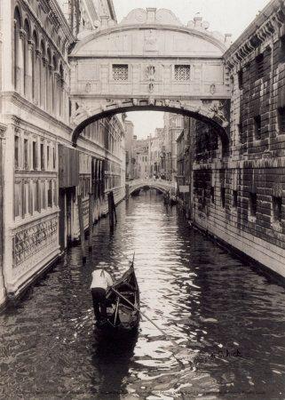 Venice, Italy: Gondola, Buckets Lists, Cyndi Schick, Art Prints, Venice Canal, Art Com, The Bridges, Venice Italy, Places