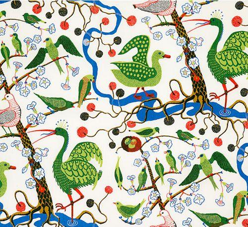 josef frank tapet tyg mönster josef frank wallpaper fabric pattern