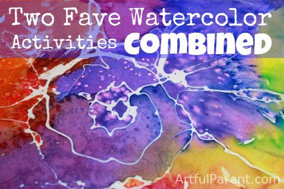 Rubber cement, salt AND liquid watercolors?!!Techniques Combinations, Rubber Cement, Favorite Watercolors, Watercolor Techniques, Watercolors Techniques, Watercolors Resistance, Water Colors, Liquid Watercolors, Watercolors Painting