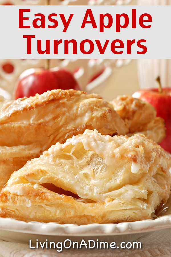 Easy Homemade Apple Turnovers Recipe