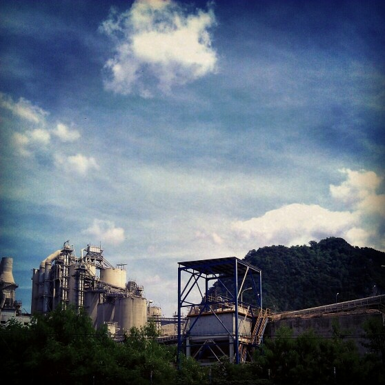 Andalas Cement Factory. Aceh, indonesia