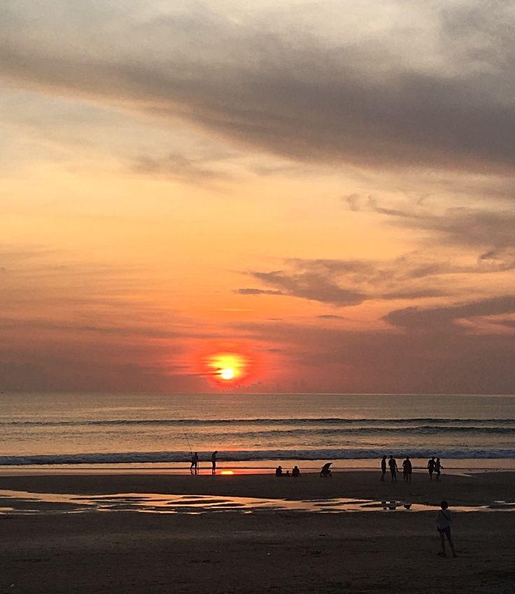 Shores of Seminyak, Bali Sunset October 2017