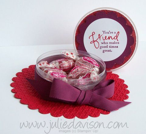 Red Hat Favor Box