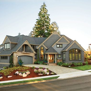 Royalty Free Stock Photos American Beige Luxury Large House Front Exterior Image27278328 additionally Front Door further Modern Driveway Gates further 0  20843422 00 also The Garage The Ultimate Man Cave. on garage door home design curb appeal