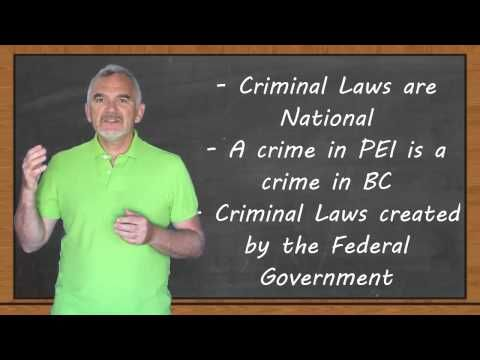 ▶ Intro to Criminal Law: Grade 11 Law (Criminal Law) - YouTube