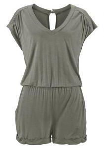 günstig kaufen | LASCANA Damen Overall grün | 06950452549180
