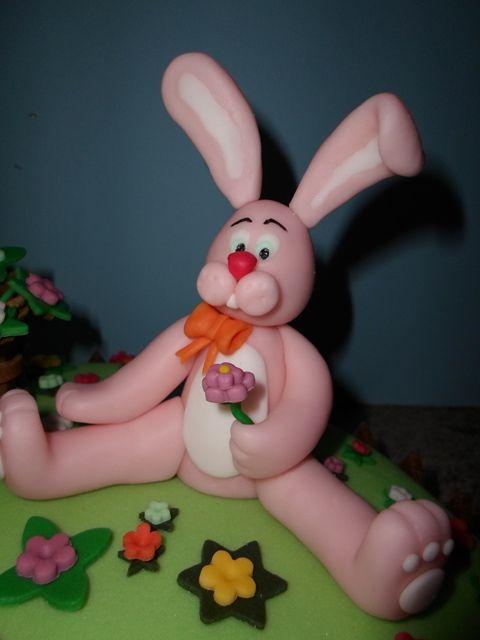 La torta di Pasqua. The Easter cake