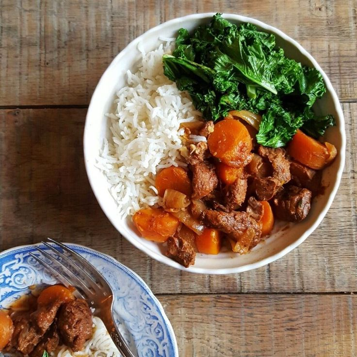 Slow Cooked Beef and Carrot Stew - Madeleine Shaw