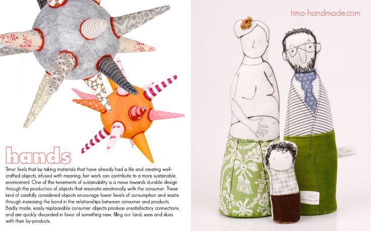Via Small Magazine, awesome quirky designs from timo-handmade.com