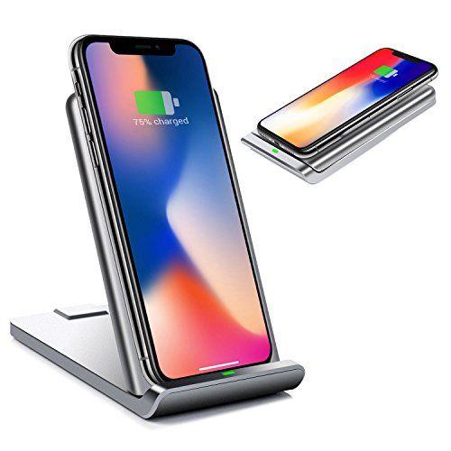 Chargeur Sans Fil Qi Pliable Chargeur A Induction Rapide Station De Charge Portable Pour Iphone X 8 Plus 8 Samsung Galaxy S8 S8 Pl Iphone Galaxy Chargeur