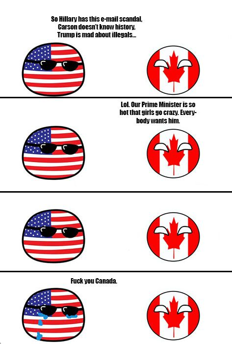 American politicians vs Canadian