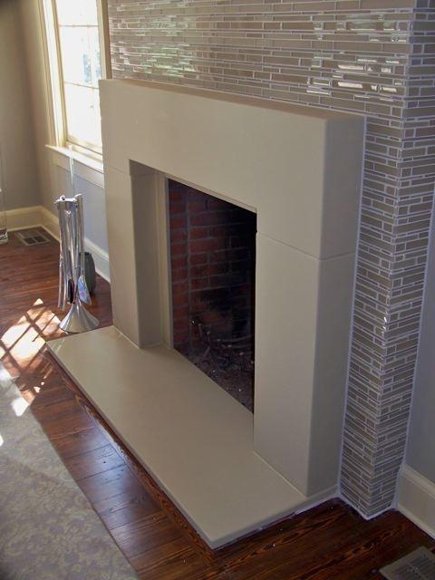 1000 Ideas About Concrete Fireplace On Pinterest Modern