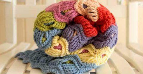Tunus işi afgan örgüsü tığ işi battaniye yapılışı