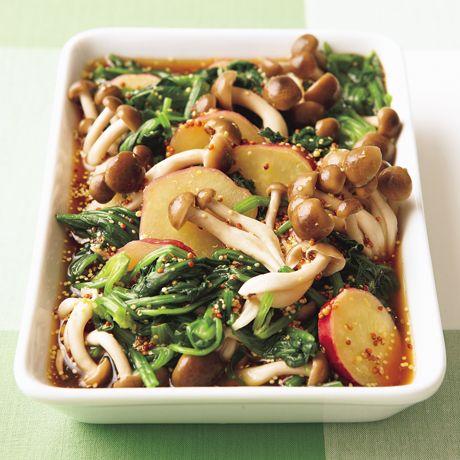 ほうれん草のだしびたしサラダ | 藤井恵さんのサラダの料理レシピ | プロの簡単料理レシピはレタスクラブネット