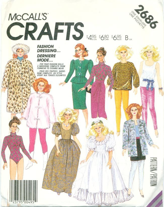 1950s Barbie Doll Free Pattern Bing Images Doll