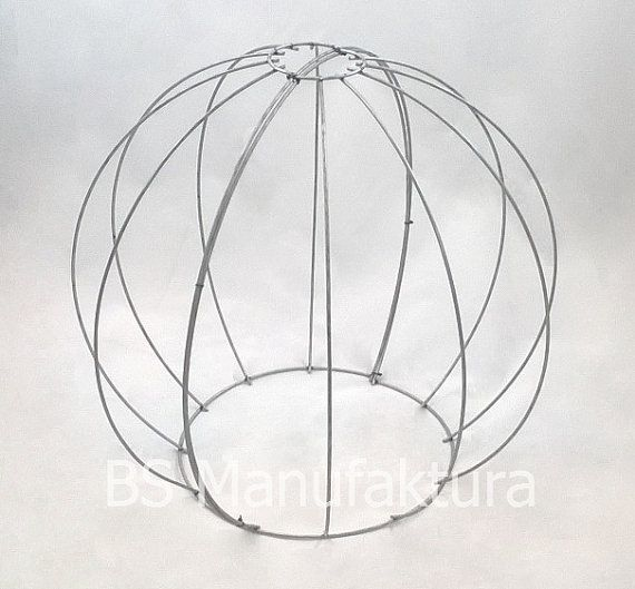 Wire topiary frame by BS Manufaktura on Etsy. Different sizes!!