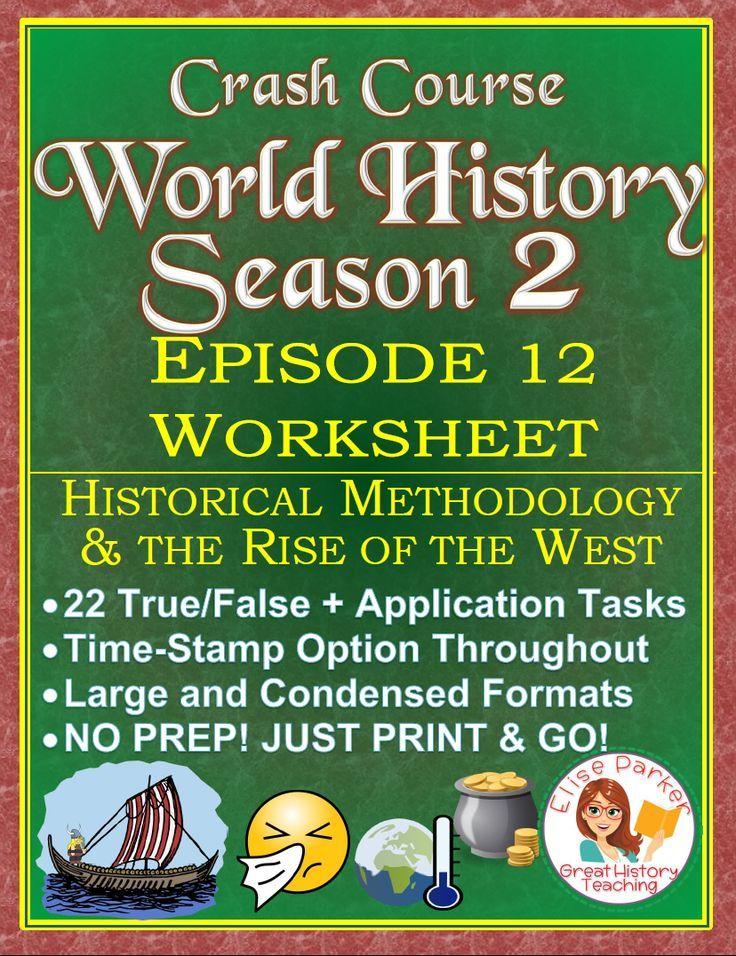 Crash Course World History SEASON 2 Episode 12 Worksheet: Bias in